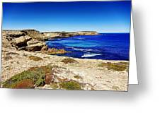 Southern Coastline V7 Greeting Card