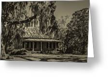 Southern Comfort Antique Greeting Card by Debra and Dave Vanderlaan