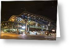 Southern Cross Rail Station In Melbourne Australia Greeting Card
