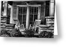 Southern Front Porch 2 Greeting Card