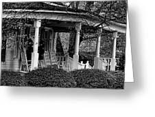 Southern Front Porch 4 Greeting Card