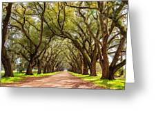 Southern Journey Paint Greeting Card