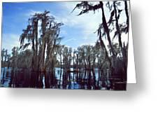 Southern Lake Greeting Card