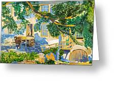 Southern Life By Stan Bialick Greeting Card
