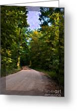 Southern Missouri Country Road I Greeting Card