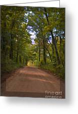 Southern Missouri Country Road II Greeting Card