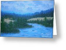 Southern Oregon Waters Greeting Card