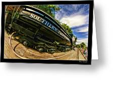 Southern Pacific 2472 Steam Engine 1921 Sunol Station Greeting Card