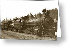 Southern Pacific Steam Locomotives No. 2847 2-8-0 1901 Greeting Card