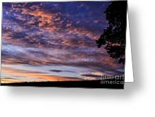 Southern Sky Sunrise Greeting Card