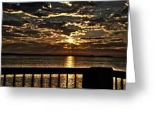Southern Sunrise Greeting Card