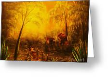 Southern Woods -original Sold- Buy Giclee Print Nr 36 Of Limited Edition Of 40 Prints   Greeting Card
