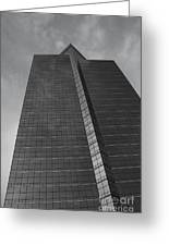 Southfield Hi Rise Black And White Greeting Card by Bill Woodstock