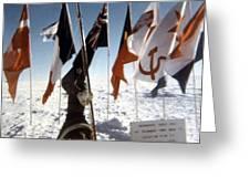 Southpole-antarctica-photos-2 Greeting Card