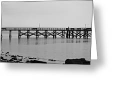 Southport Fishing Pier Greeting Card