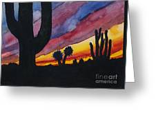 Southwest Art Greeting Card