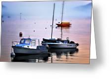 Southwest Harbor View - Mount Desert Island Greeting Card