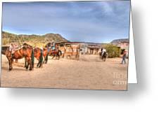 Southwest Ride Greeting Card