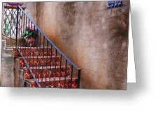 Southwest Staircase Greeting Card