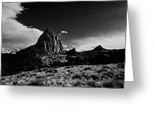 Southwestern Beauty In Black And White Greeting Card