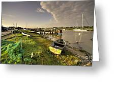 Southwold Harbour  Greeting Card