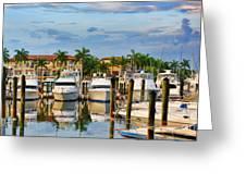 Soverel Harbour Marina Greeting Card