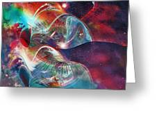 Space Bubble Greeting Card