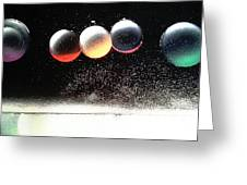 'space-circles'... Greeting Card