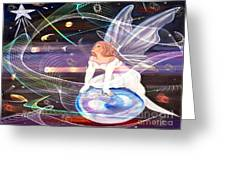 Space Angel Greeting Card