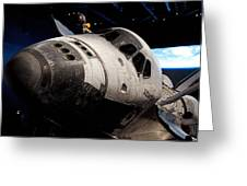 Space Shuttle Atlantis Greeting Card