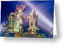 Space Shuttle Columbia Greeting Card