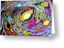 Space The Final Frontier Greeting Card by Tom Nettles