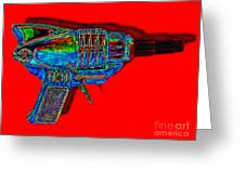 Spacegun 20130115v1 Greeting Card