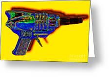 Spacegun 20130115v2 Greeting Card