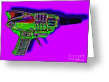 Spacegun 20130115v4 Greeting Card