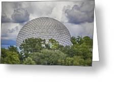Spaceship Earth Greeting Card
