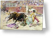 Spain - Bullfight C1900 Greeting Card