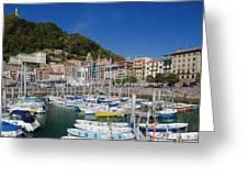 Spain, Basque Country Region, Guipuzcoa Greeting Card