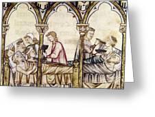 Spain: Medieval Hospital Greeting Card