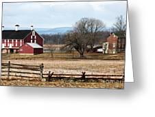 Spangler's Farm Greeting Card by John Rizzuto