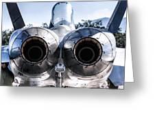 Spanish Air Force F-18 Hornet Greeting Card