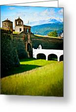 Spanish Castle Greeting Card