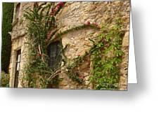 Spanish Church Wall Greeting Card