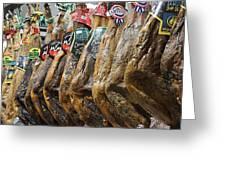 Spanish Ham Greeting Card