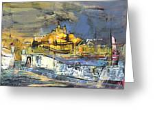 Spanish Harbour 03 Greeting Card