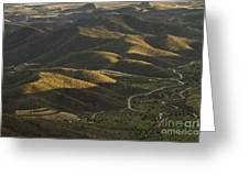 Spanish Landscape In Andalusia Greeting Card