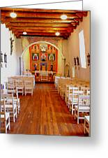Spanish Mission Church New Mexico Greeting Card