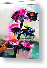Spanish Town Parade Hats Greeting Card