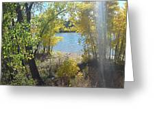 Sparkle Lake Greeting Card