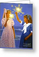 Sparkler Duet Greeting Card